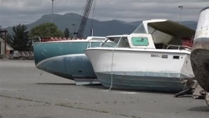 B.C. companies come together to clean up derelict boats
