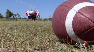 Bragging rights on the line in the annual Can-Am six-man football game