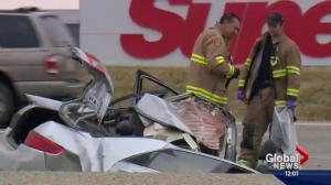 Driver killed in Deerfoot Trail collision