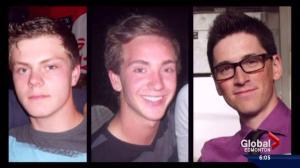 Families mark grim anniversary of crash that killed three Beaumont men