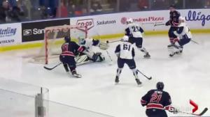 Regina Pats hold on to down Saskatoon Blades 2-1