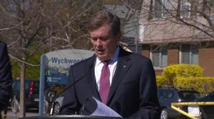 Tory stresses cooperation with province, feds on housing costs