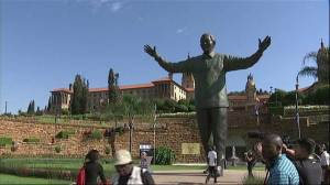 Wreath laid at Mandela monument in Pretoria to mark first anniversary of death