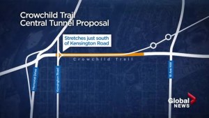 Tunnel a possibility on Crowchild Trail