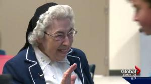 Edmonton's beloved Sister Annata Brockman passes away at 89