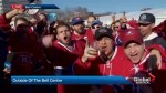 Montreal Canadiens fans hope for win in Game 2 against Rangers