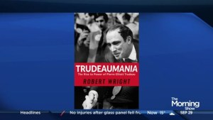 "Robert Wright on his book ""Trudeaumania"""