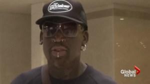 Rodman leaves North Korea, hopes to come back soon