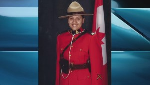 RCMP memorial service remembers Const. Sarah Beckett who died in line of duty