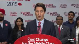 Justin Trudeau: Important for Canada to be part of TPP