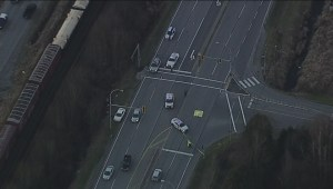 Raw: Maple Ridge fatal truck and motorcycle accident