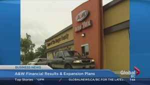 BIV: A&W financial results and expansion plans