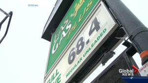 Edmonton gas prices rise