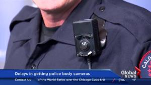 Delays in Calgary police body cameras