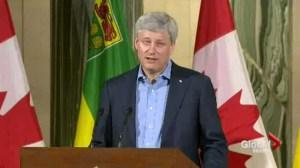 Harper in Saskatchewan