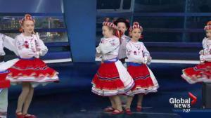 Yalenka Ukrainian Dancers celebrate Malanka