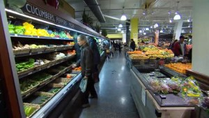 Canadians paying more for groceries as loonie wilts