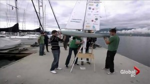 UBC students attempt to sail into history with robotic boat