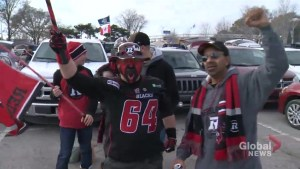 Thousands gather in Toronto to watch 104th Grey Cup