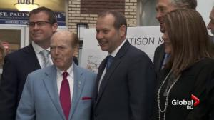 Jim Pattison donates millions to new St. Paul's