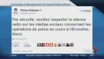 Authorities ask for social media silence in Brussels