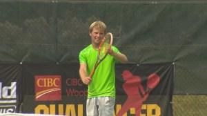 Tennis win marks Manitoba milestone