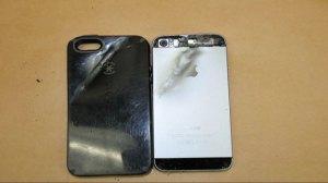 iPhone stops bullet shot at California student