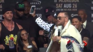Floyd Mayweather vs. Conor McGregor: Showdown in New York