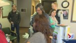 Nicola Valley First Nation supporters occupy Premier Christy Clark's office