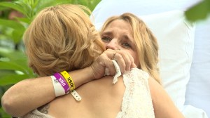 Mother with terminal cancer gets dying wish to see daughter get married