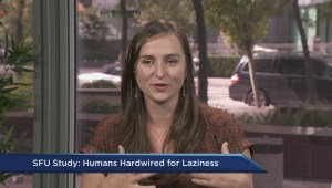 SFU study finds humans are inherently lazy