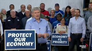 Harper pledges one-billion dollar investment in Canada's auto industry