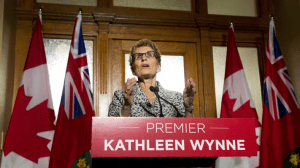 Ontario gives Liberals, Kathleen Wynne majority