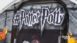 'Potter Potties' a hit at Calgary's 'Parade of Wonders'