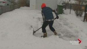 Winter storm hits Halifax