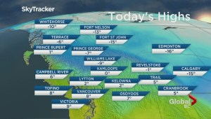 BC Evening Weather Forecast: Mar 11