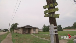 Remnants of Hurricane Katrina destruction lingers in New Orleans