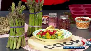 Registered Dietitian Emily Mardell shares farmers market finds and local food in the Global Edmonton kitchen (Part 2 of 3)