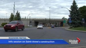 Sainte-Anne-de-Bellevue construction woes