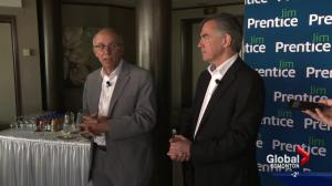 'A heck of a good guy': Former Edmonton mayor Stephen Mandel following Jim Prentice's death