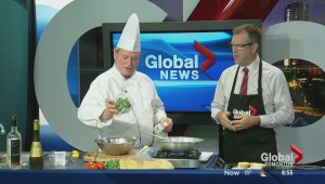 Saturday's cooking segment with the Green Bean