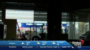 Smash and grab at Shoppers Drug Mart