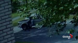 Brazen daytime shooting in Surrey captured on camera