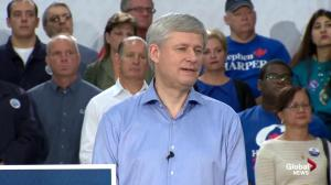 Harper responds to attack from Ontario Premier Kathleen Wynne