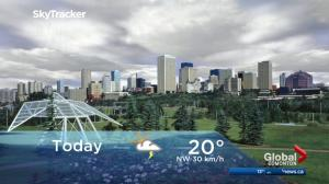 Edmonton early morning weather forecast: Friday, July 21, 2017