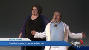 Fringe reviews: 'Death Comes To Auntie Norma' and 'Post Traumatic Super Delightful'