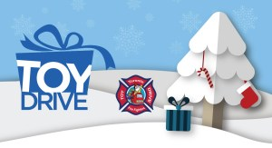 Help support the Toronto Fire Fighters' Toy Drive