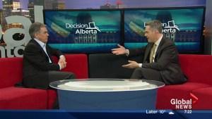 Alberta Election 2015:  Jim Prentice on the Morning News