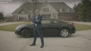 Man's humorous video to sell car goes viral
