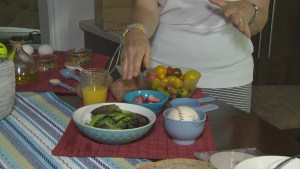 Are you eating too much? Registered dietitian Andrea Miller explains and shows what is a proper portion size